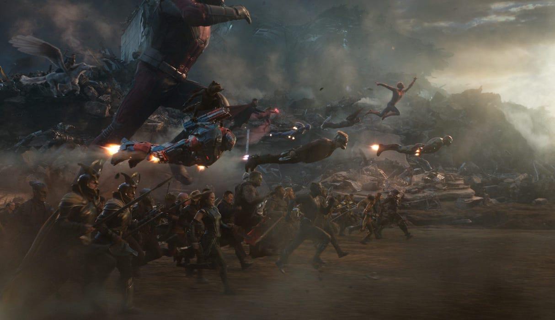 Avengers: Endgame final battle sequence