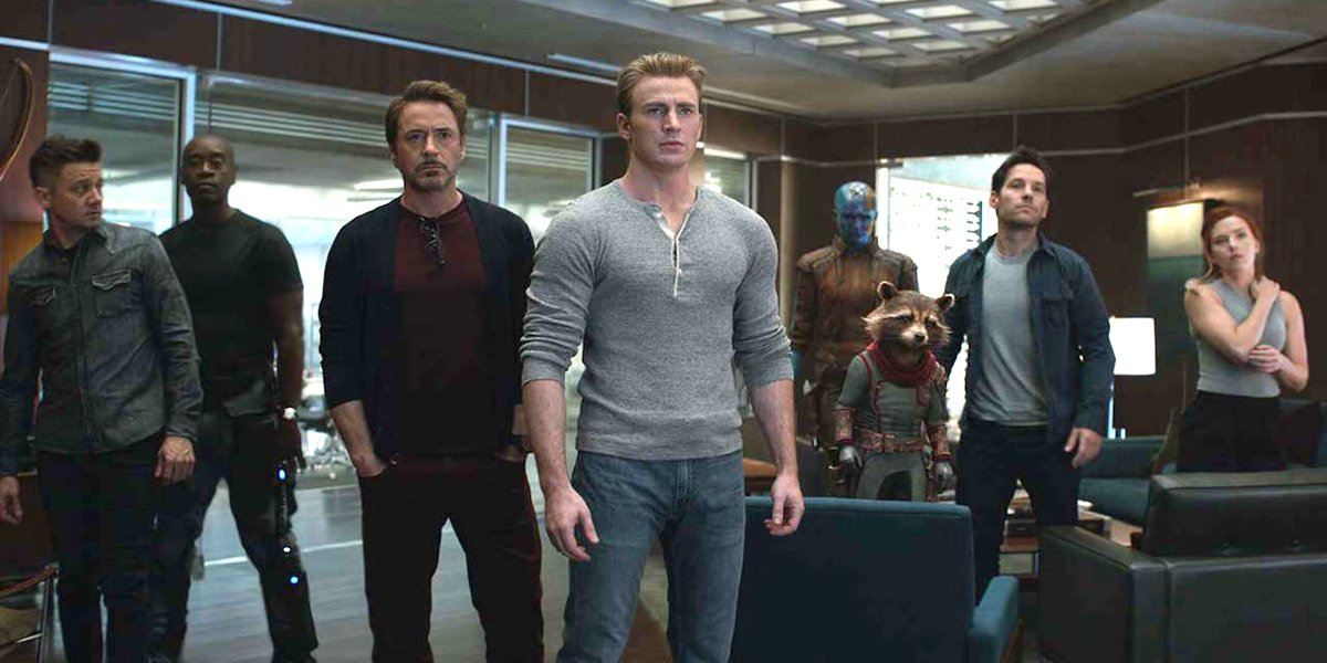 Avengers: Endgame characters line up MCU Marvel Studios