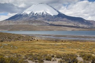 andes mountains, age, geology, chungar lake