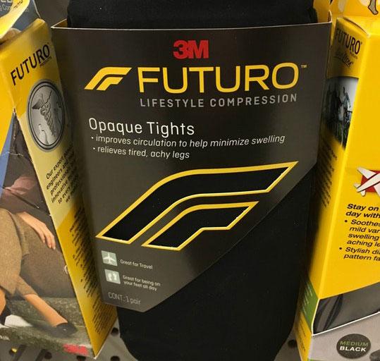 3M compression tights logo
