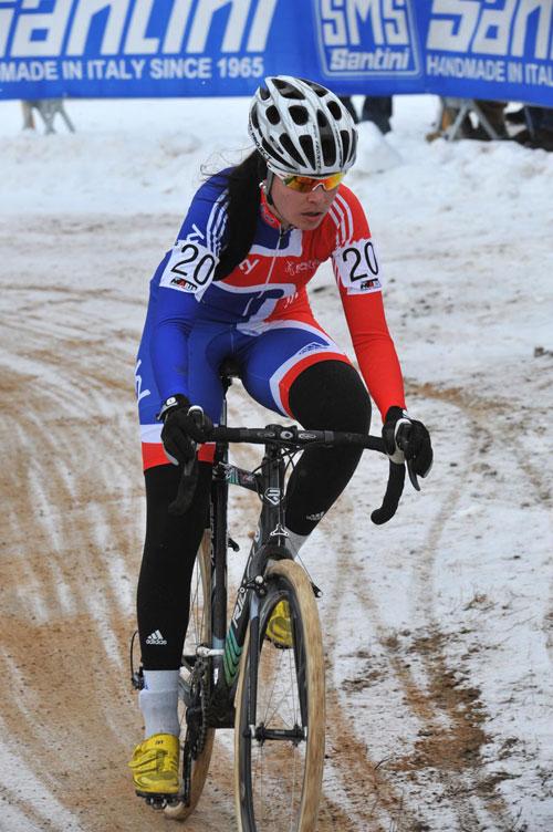 Nikki Harris, Cyclo-Cross World Championships 2010