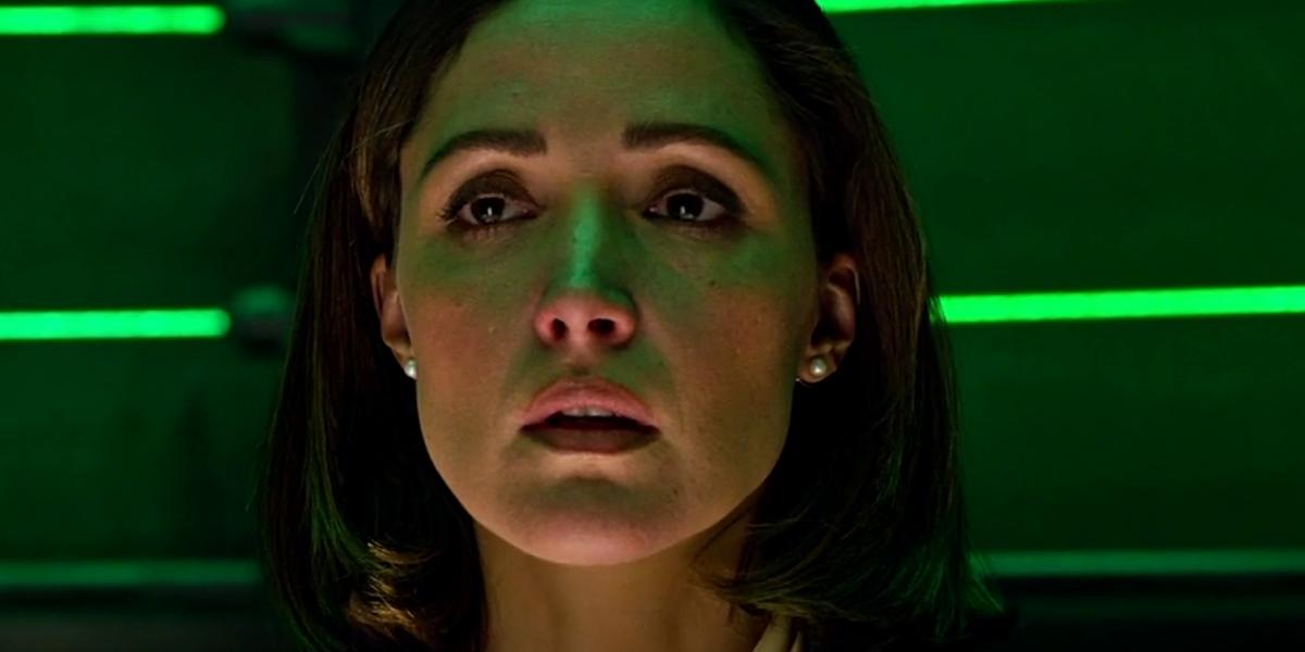 Rose Byrne as Dr. Moira MacTaggert in X-Men: Apocalypse