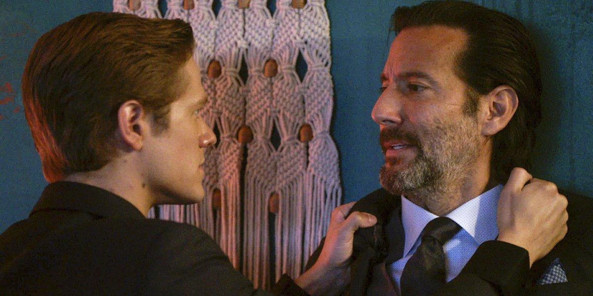 MacGyver Season 4 premiere Lucas Till Mac Henry Ian Cusick as Russ CBS