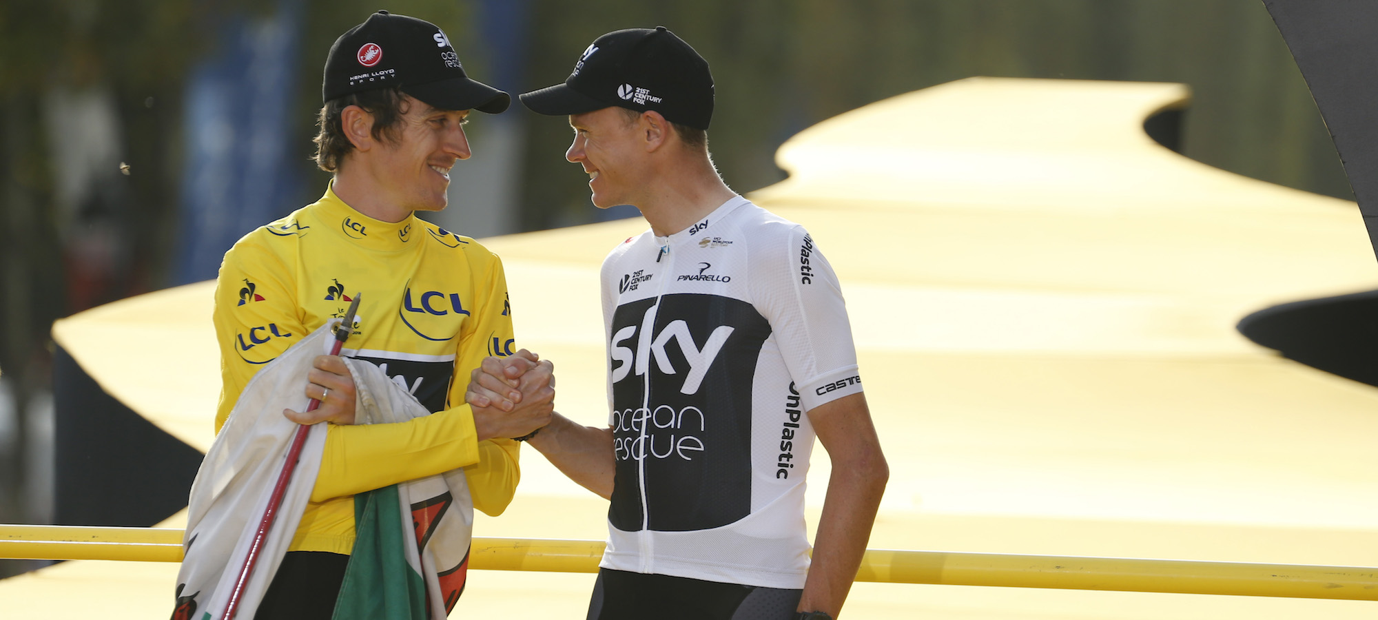 Geraint Thomas Reveals Tension With Team Sky Over Chris Froome