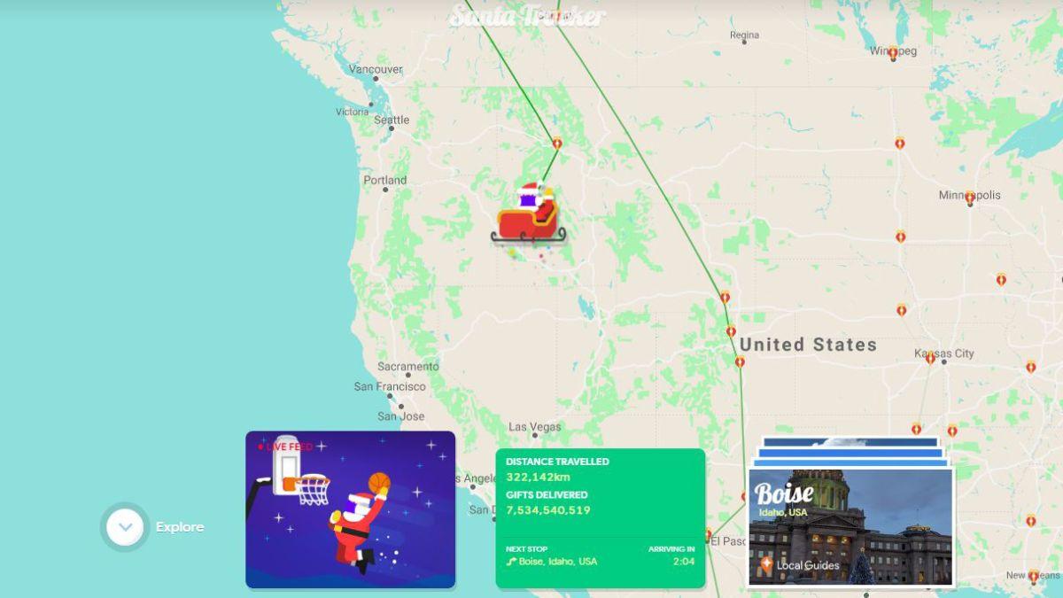 Christmas 2021 Santa Tracker Google Santa Tracker How To Follow Santa Right Now Techradar