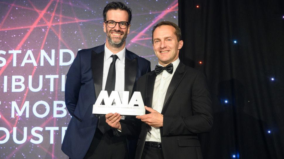 Samsung's Conor Pierce wins MIA 2019 Outstanding Contribution to the Mobile Industry award