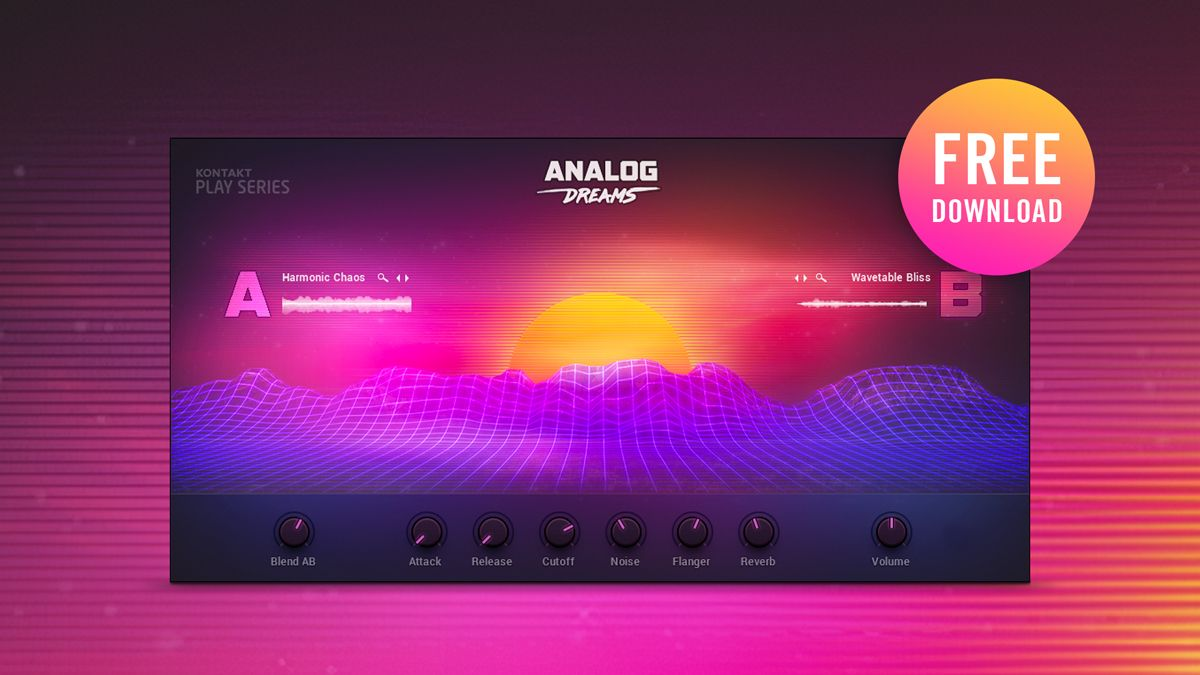 Today is the last day to get Native Instruments' Analog Dreams soft synth for free
