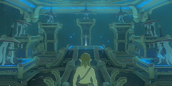 Link the seven monks Breath of the Wild