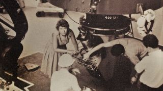 Vera Rubin at work at the Lowell Observatory in Flagstaff, AZ in 1965.