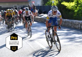 Julian Alaphilippe attack during the 107th Tour de France 2020 Stage 2 a 186km stage from Nice Haut Pays to Nice TDF2020 LeTour on August 30 2020 in Nice France Photo by Tim de WaeleGetty Images