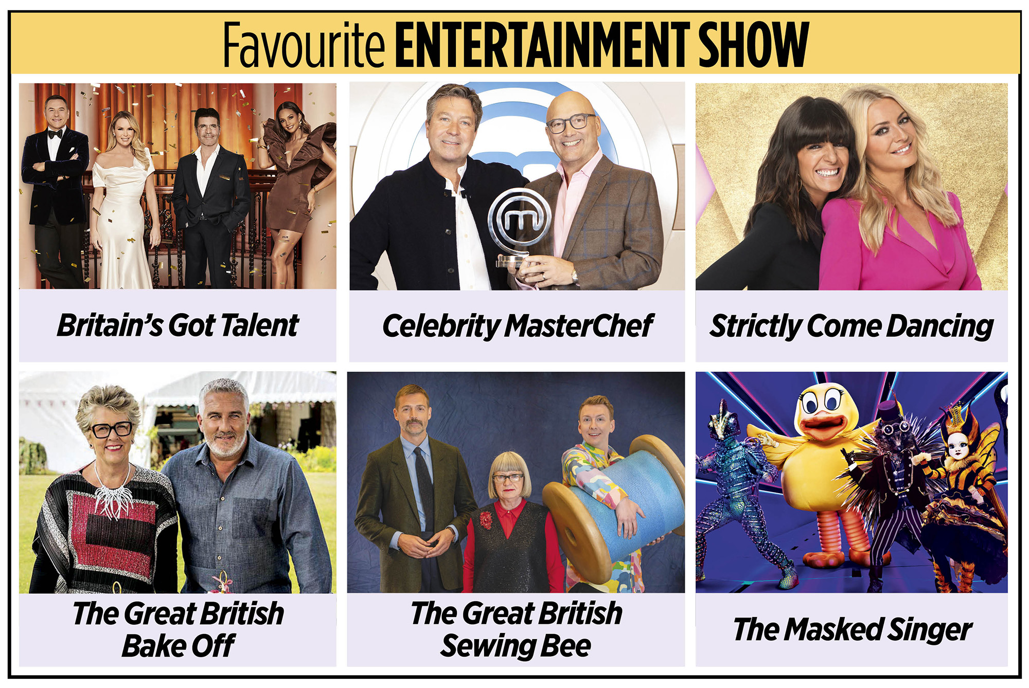 Programa de entretenimiento favorito de los TV Times Awards 2020