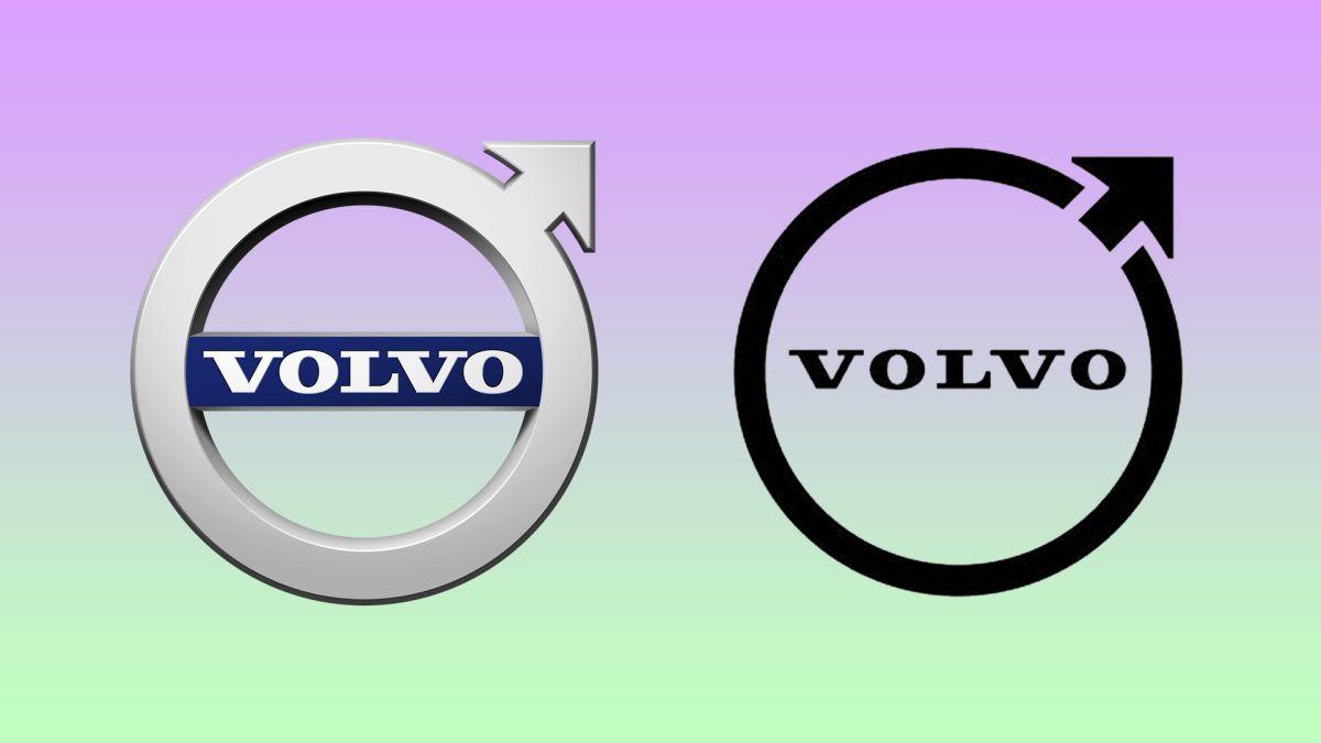 Volvo's minimal new logo falls flat (literally)