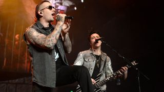 Avenged Sevenfold's M Shadows and Synyster Gates