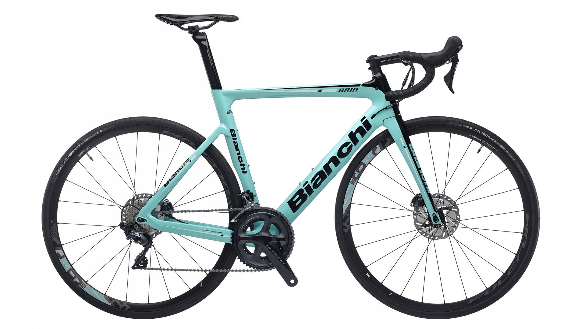 Best aero road bikes: Bianchi Aria Disc Ultegra