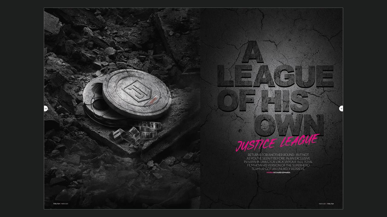 Largometraje de Total Films en la Liga de la Justicia de Zack Snyder