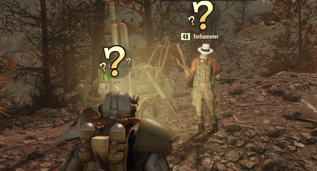 What to do if you've completed Fallout 76's Sheepsquatch quest but haven't seen the Sheepsquatch