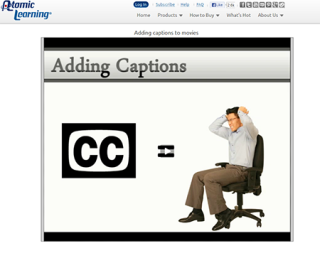Video Tutorial: Adding captions to movies