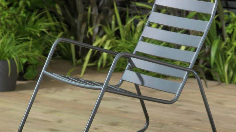 garden furniture: argos rocking chair
