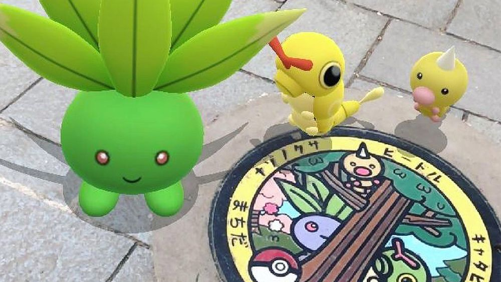 Pokémon manhole covers are here to brighten your day
