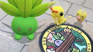 Pokemon manhole cover