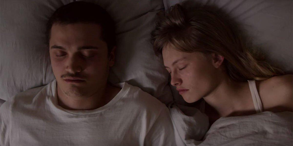 Gaspar Noe's Love before sex scene