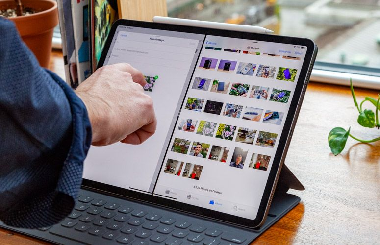 Ipad Pro 2018 12 9 Inch Review Benchmarks And Specs Laptop Mag