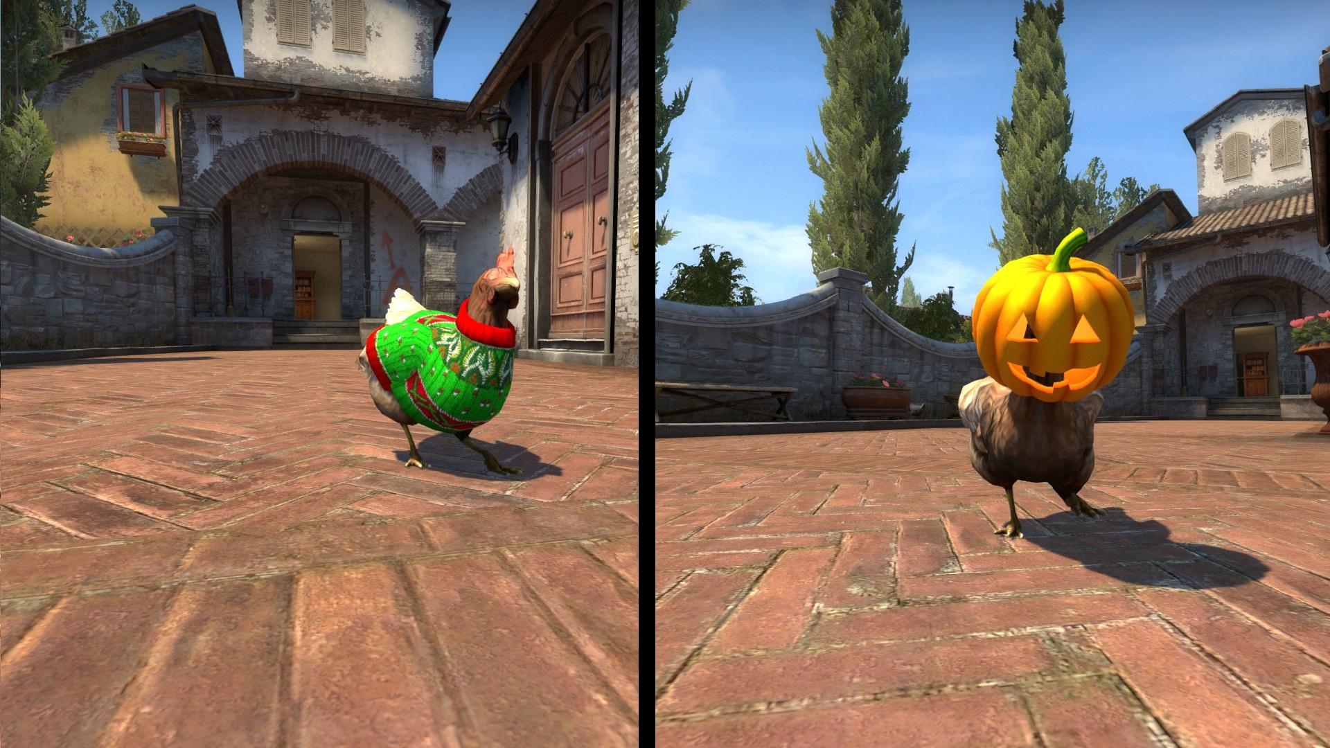 Αποτέλεσμα εικόνας για cs:go chickens pumpkin