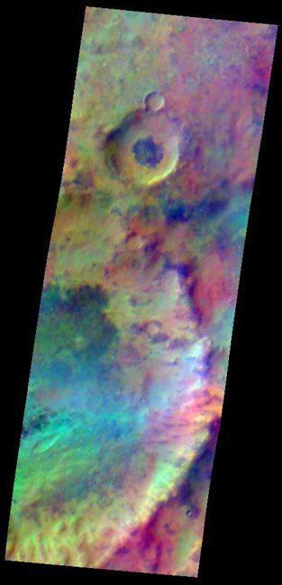 NASA Probe Looks at Bright Side of Mars