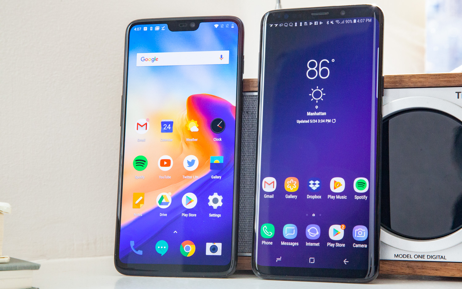 OnePlus 6 vs  Galaxy S9: This Couldn't Be Closer | Tom's Guide