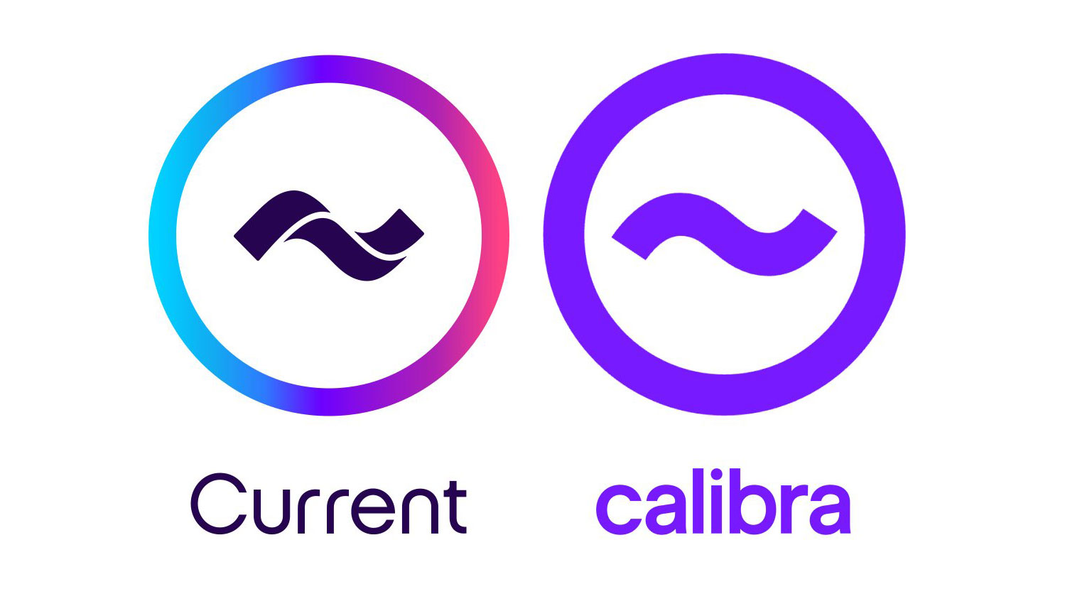 Facebook's Calibra logo looks suspiciously like the Current logo | Creative Bloq