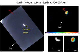 New Photos: Lunar Probe Spies Earth and Moon