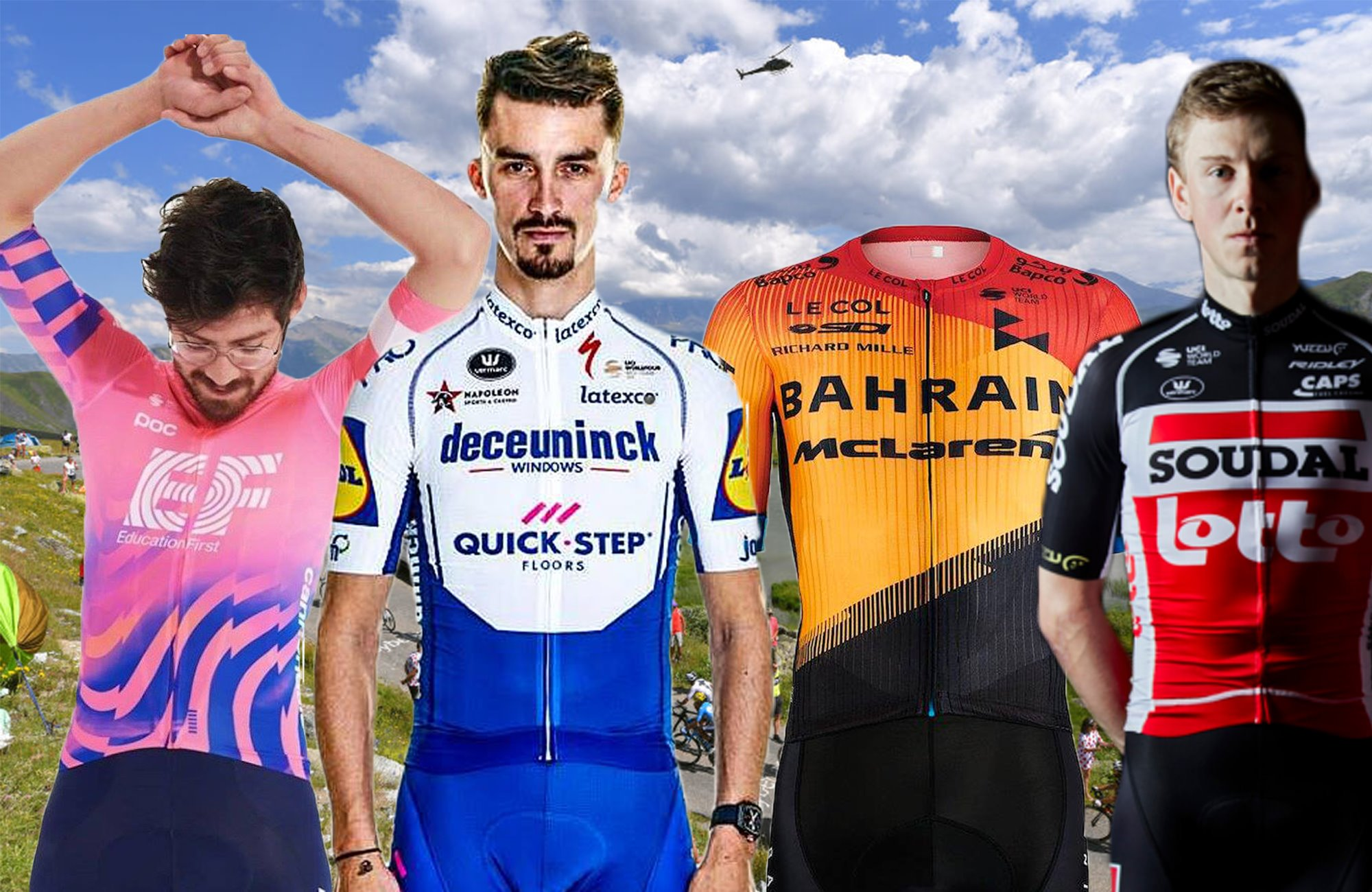 Which WorldTour team has the best kit for 2020? A considered ranking