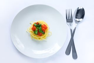 Fasting pasta meal, feast or famine