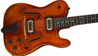The Fender Custom Shop's new Violinmaster guitar