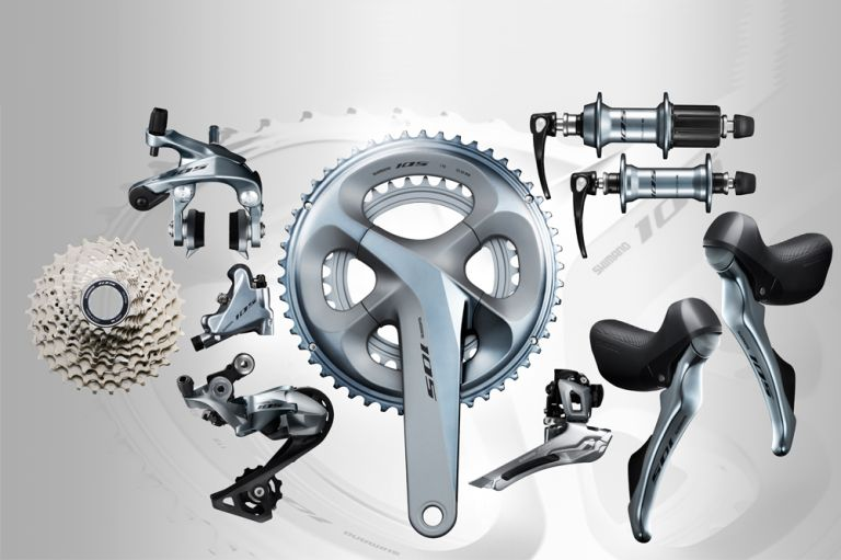 Shimano groupsets 105 - R7000 series