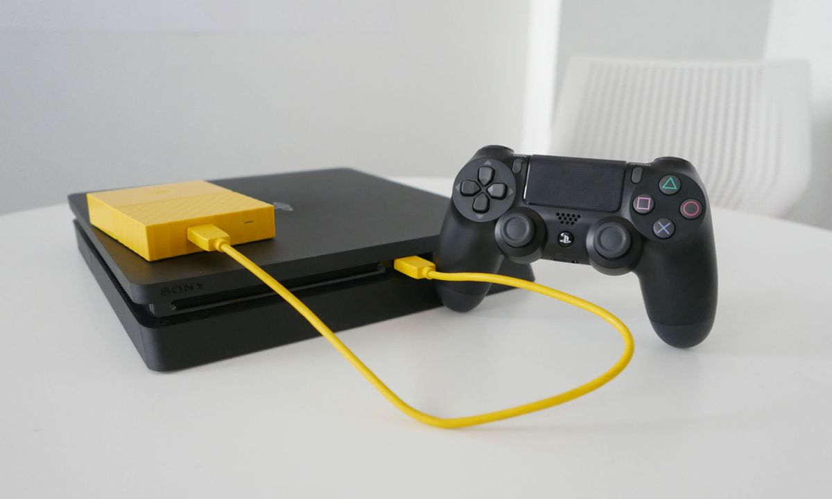 PS4: External HDD Support - PlayStation Console, Games ...