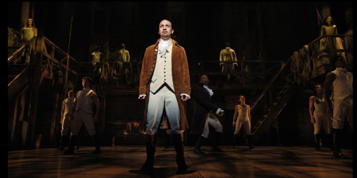 Lin-Manuel Miranda as Hamilton in Hamilton