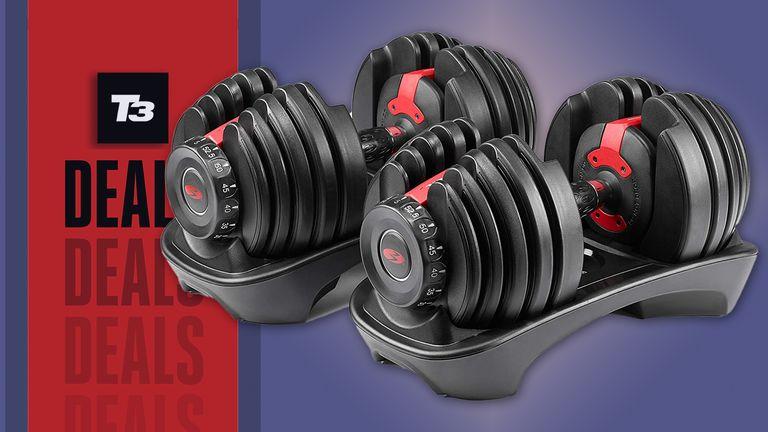 bowflex selecttech dumbell deal