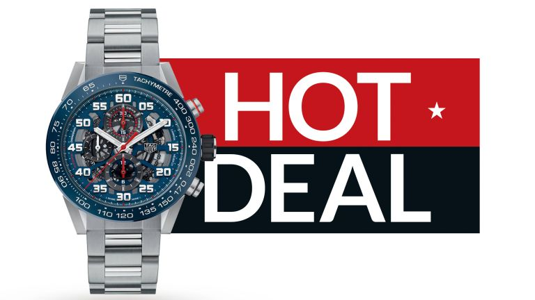 Save a massive £1000 on this TAG Heuer Carrera watch