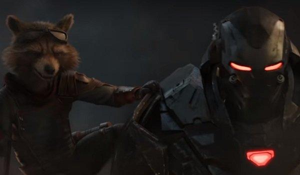Rocket Raccoon Rhodey Avengers: Endgame
