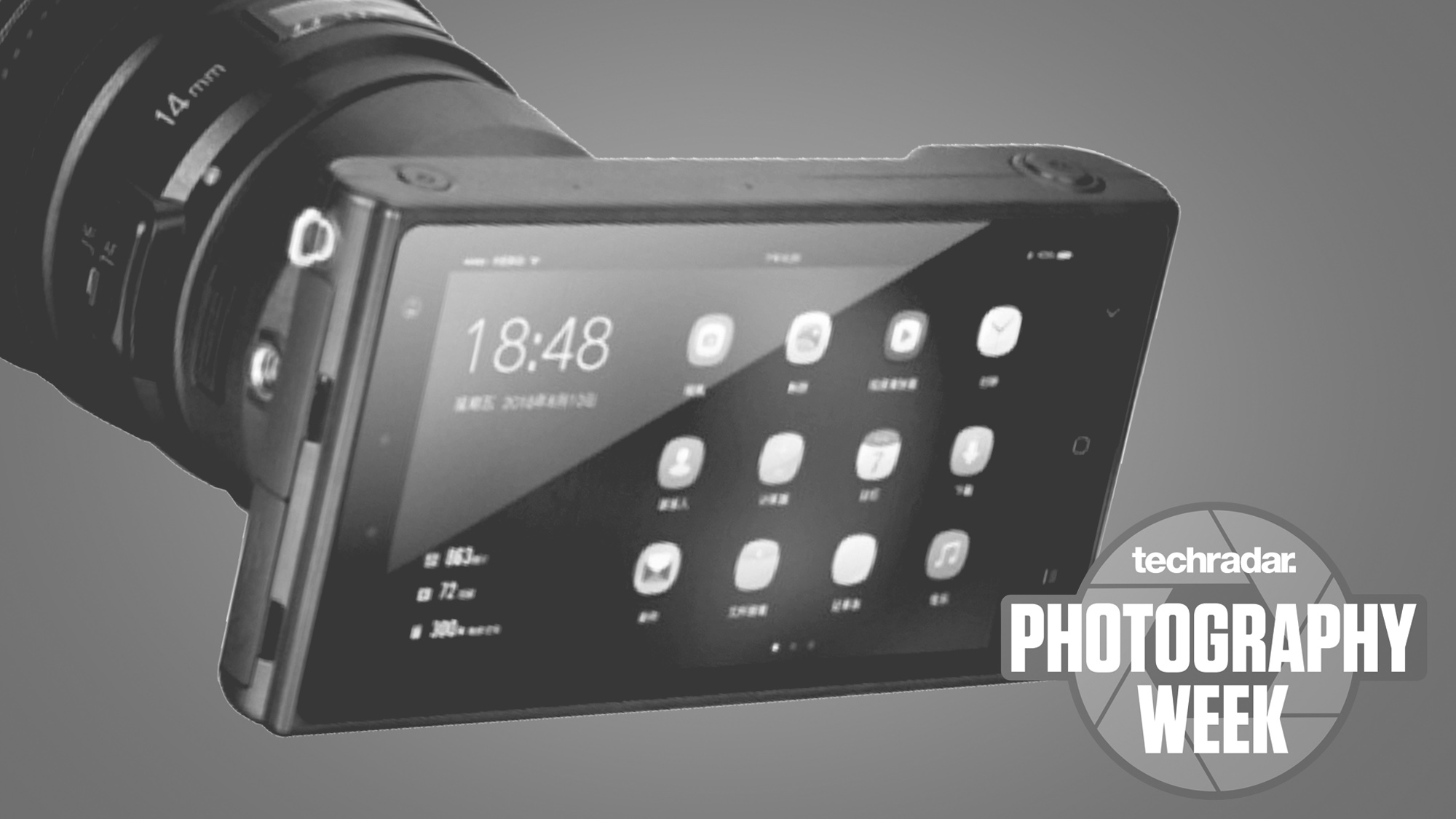 The rear screen on the Yongnuo mirrorless camera
