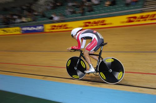 Steven Burke national track championships 2008