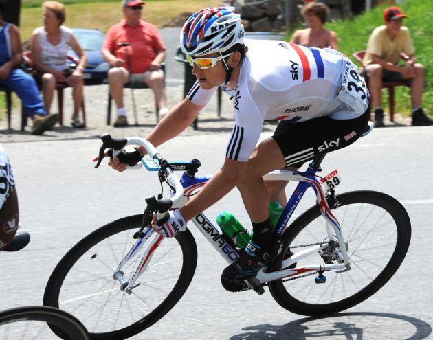 Geraint Thomas, Tour de France 2010, stage 9