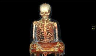 mummy buddha