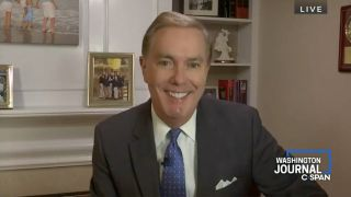 Steve Scully appearing on C-SPAN.