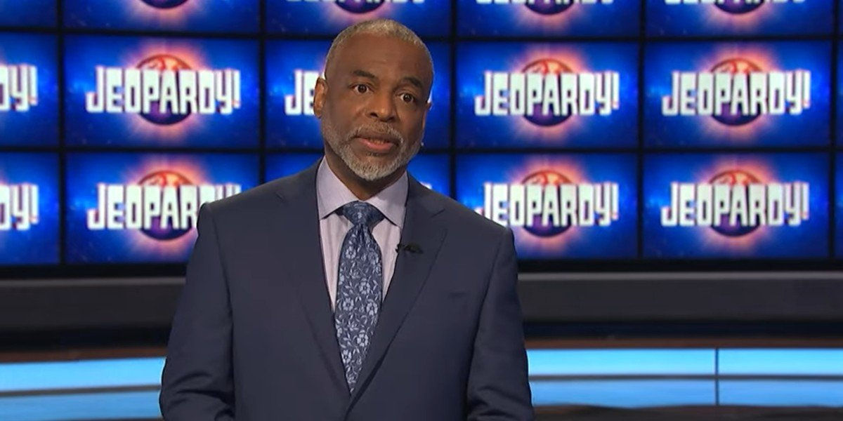 LeVar Burton talking about his love for Jeopardy before his debut