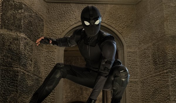 Spider-Man Stealth suit in Spider-Man Far From Home