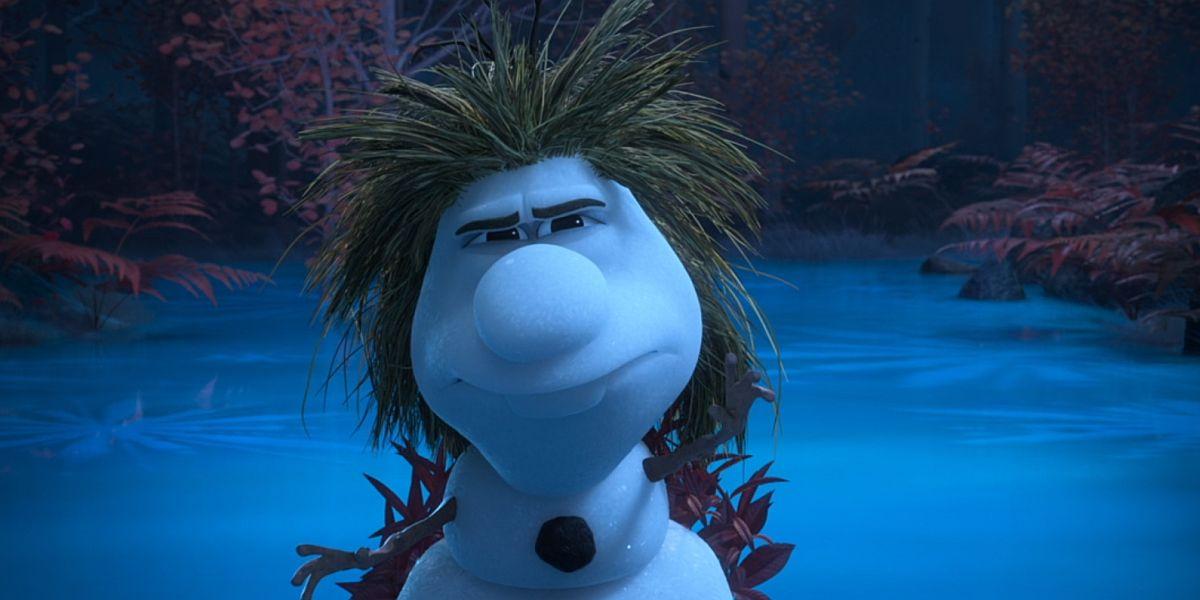 Olaf the storyteller in frozen 2