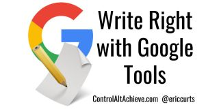 Write Right with Google Tools
