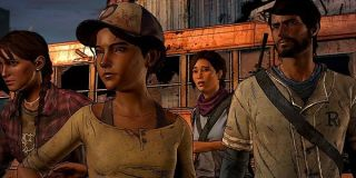 Clementine and friends The Walking Dead